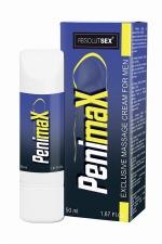 Crème stimulante pour pénis PenimaX : Crème de massage aphrodisiaque pour le pénis permettant d'améliorer sa taille et sa vigueur, à base de plantes naturelles.