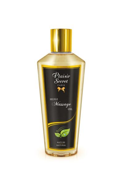 Huile de massage sèche nature