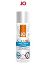 Lubrifiant anal effet chaud 60 ml : Lubrifiant spécial anal à base d'eau, pour la pratique de la sodomie avec un partenaire ou pour jouer avec un sextoy.