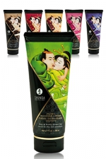 Crème de massage comestible (200ML) -  Shunga : Le plus savoureux des massages avec les nouvelles crèmes de massage délectables